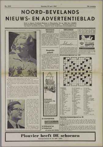 Noord-Bevelands Nieuws- en advertentieblad 1967-04-29