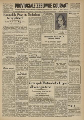 Provinciale Zeeuwse Courant 1950-05-27