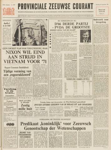 Provinciale Zeeuwse Courant 1969-09-27