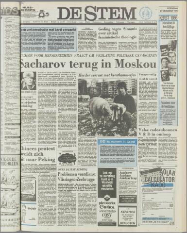 de Stem 1986-12-24