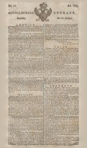 Middelburgsche Courant 1763-01-22