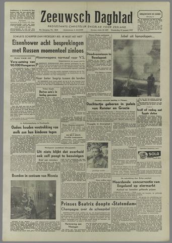 Zeeuwsch Dagblad 1957-01-24