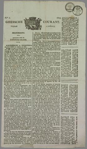 Goessche Courant 1829