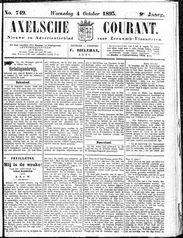 Axelsche Courant 1893-10-04