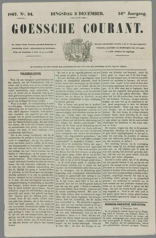 Goessche Courant 1867-12-03