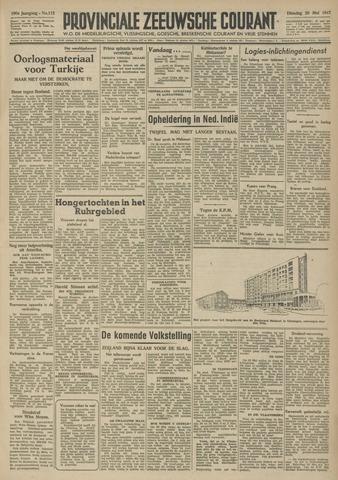 Provinciale Zeeuwse Courant 1947-05-20