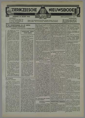 Zierikzeesche Nieuwsbode 1942-03-24