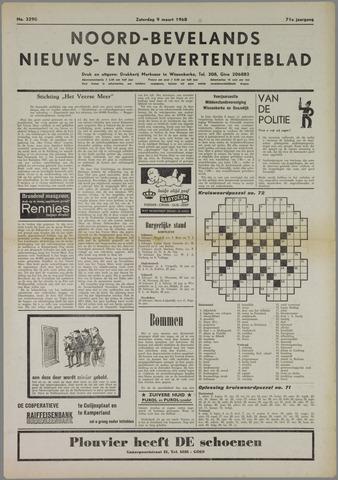 Noord-Bevelands Nieuws- en advertentieblad 1968-03-09