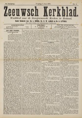 Zeeuwsche kerkbode, weekblad gewijd aan de belangen der gereformeerde kerken/ Zeeuwsch kerkblad 1908-07-03
