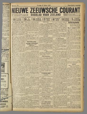 Nieuwe Zeeuwsche Courant 1923-03-27