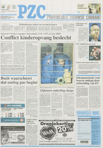 Provinciale Zeeuwse Courant 2002-01-31
