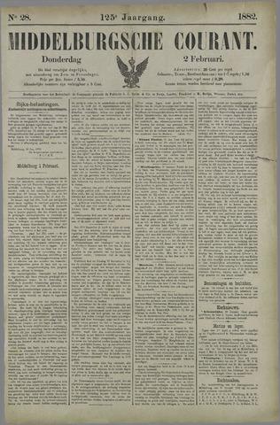 Middelburgsche Courant 1882-02-02