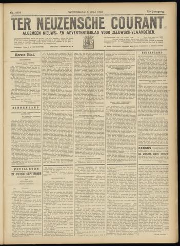 Ter Neuzensche Courant. Algemeen Nieuws- en Advertentieblad voor Zeeuwsch-Vlaanderen / Neuzensche Courant ... (idem) / (Algemeen) nieuws en advertentieblad voor Zeeuwsch-Vlaanderen 1932-07-06