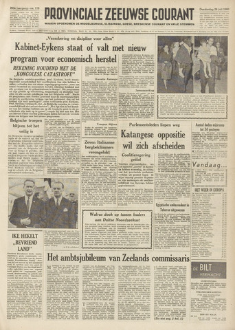 Provinciale Zeeuwse Courant 1960-07-28