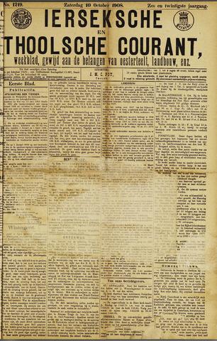 Ierseksche en Thoolsche Courant 1908-10-10