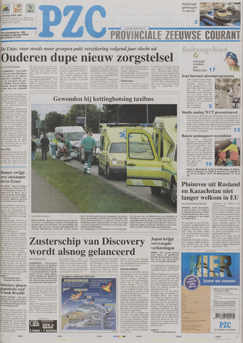 Provinciale Zeeuwse Courant 2005-08-09