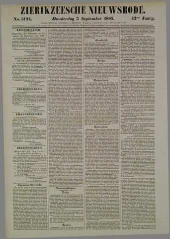 Zierikzeesche Nieuwsbode 1885-09-03