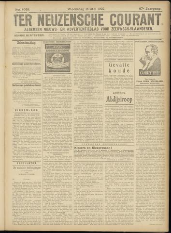 Ter Neuzensche Courant. Algemeen Nieuws- en Advertentieblad voor Zeeuwsch-Vlaanderen / Neuzensche Courant ... (idem) / (Algemeen) nieuws en advertentieblad voor Zeeuwsch-Vlaanderen 1927-05-18