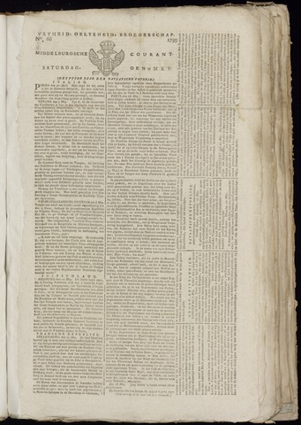Middelburgsche Courant 1799-05-25