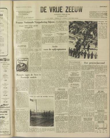 de Vrije Zeeuw 1960-02-03