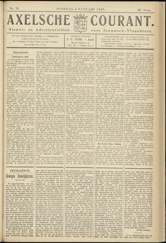 Axelsche Courant 1927-01-04