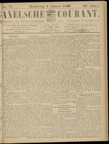 Axelsche Courant 1920