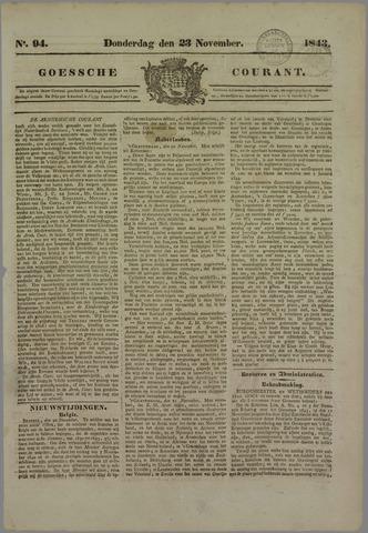 Goessche Courant 1843-11-23