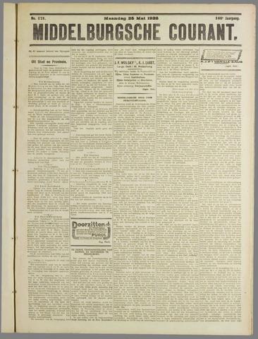 Middelburgsche Courant 1925-05-25