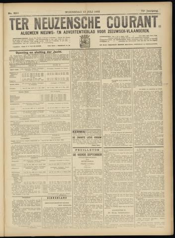 Ter Neuzensche Courant. Algemeen Nieuws- en Advertentieblad voor Zeeuwsch-Vlaanderen / Neuzensche Courant ... (idem) / (Algemeen) nieuws en advertentieblad voor Zeeuwsch-Vlaanderen 1932-07-13