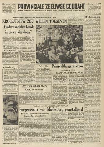 Provinciale Zeeuwse Courant 1961-11-04