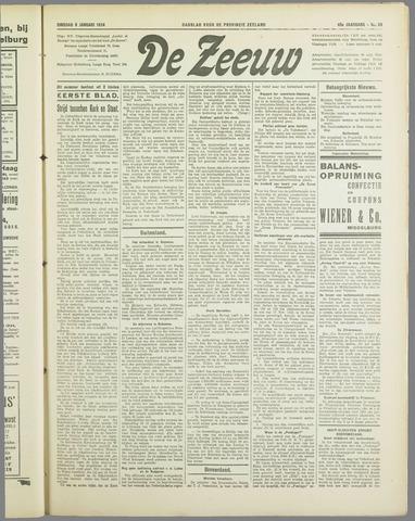 De Zeeuw. Christelijk-historisch nieuwsblad voor Zeeland 1934-01-09