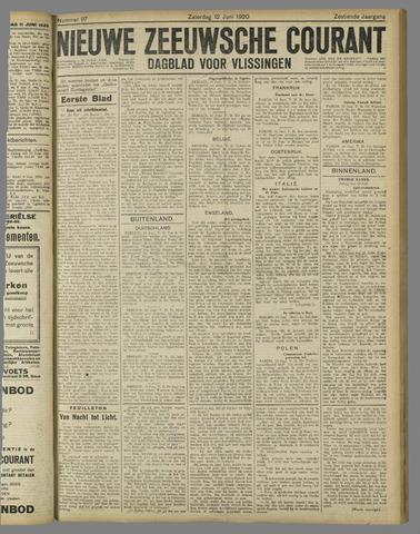 Nieuwe Zeeuwsche Courant 1920-06-12