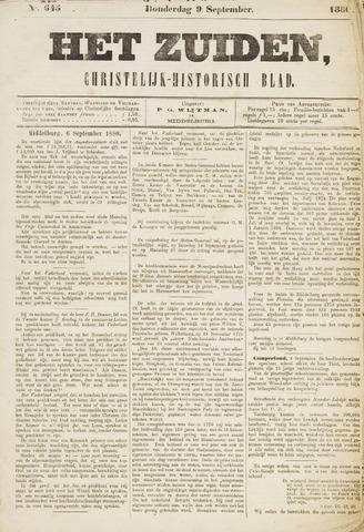 Het Zuiden, Christelijk-historisch blad 1880-09-09