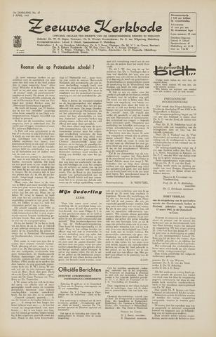 Zeeuwsche kerkbode, weekblad gewijd aan de belangen der gereformeerde kerken/ Zeeuwsch kerkblad 1965-04-02
