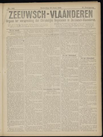 Luctor et Emergo. Antirevolutionair nieuws- en advertentieblad voor Zeeland / Zeeuwsch-Vlaanderen. Orgaan ter verspreiding van de christelijke beginselen in Zeeuwsch-Vlaanderen 1919-06-14