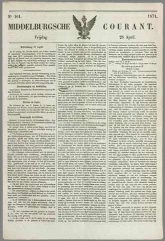 Middelburgsche Courant 1871-04-28