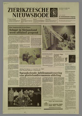 Zierikzeesche Nieuwsbode 1985-04-22