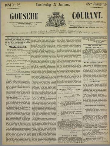 Goessche Courant 1881-01-27