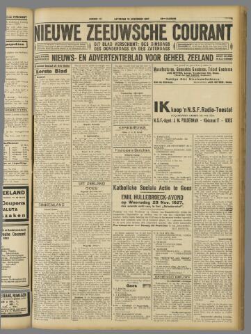 Nieuwe Zeeuwsche Courant 1927-11-19