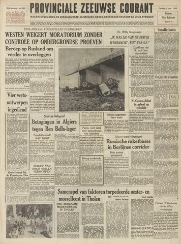 Provinciale Zeeuwse Courant 1962-09-01