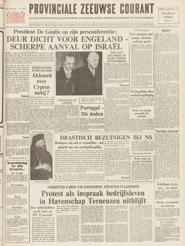 Provinciale Zeeuwse Courant 1967-11-28