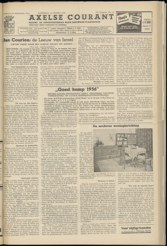 Axelsche Courant 1956-03-10