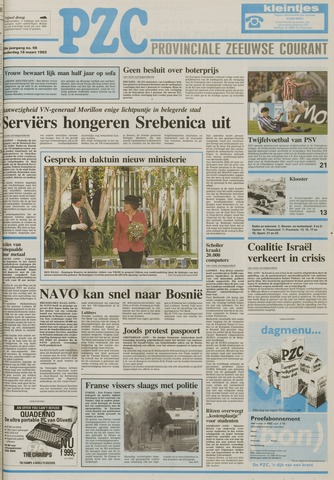 Provinciale Zeeuwse Courant 1993-03-18