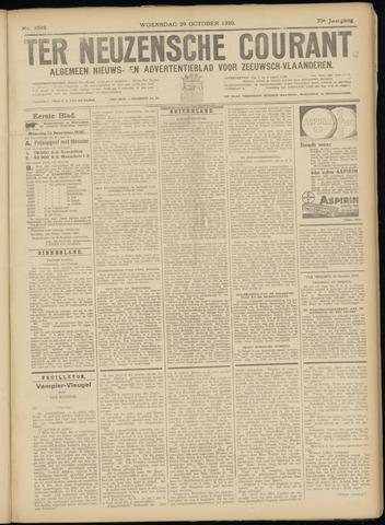 Ter Neuzensche Courant. Algemeen Nieuws- en Advertentieblad voor Zeeuwsch-Vlaanderen / Neuzensche Courant ... (idem) / (Algemeen) nieuws en advertentieblad voor Zeeuwsch-Vlaanderen 1930-10-29