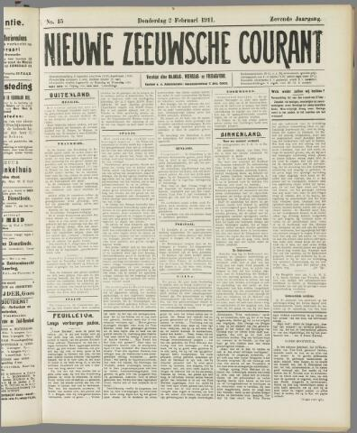 Nieuwe Zeeuwsche Courant 1911-02-02