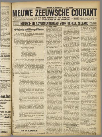 Nieuwe Zeeuwsche Courant 1923-08-30
