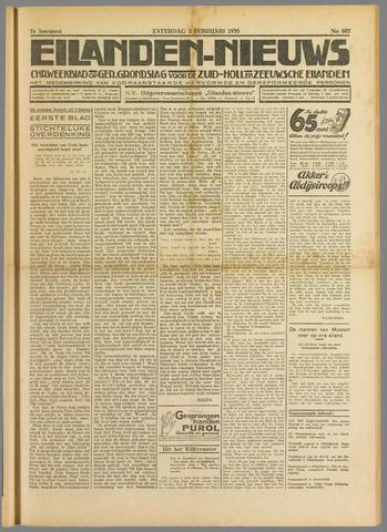 Eilanden-nieuws. Christelijk streekblad op gereformeerde grondslag 1935-02-02