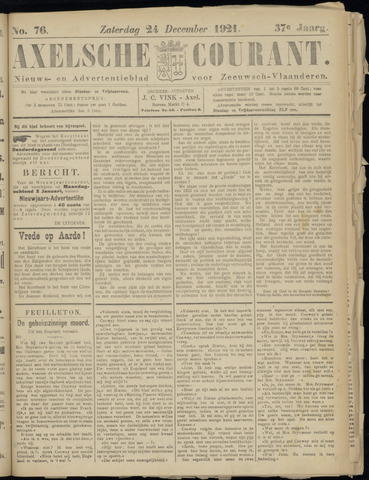 Axelsche Courant 1921-12-24