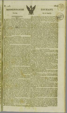 Middelburgsche Courant 1825-08-27
