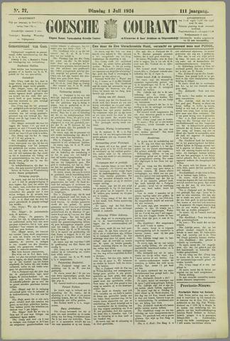 Goessche Courant 1924-07-01